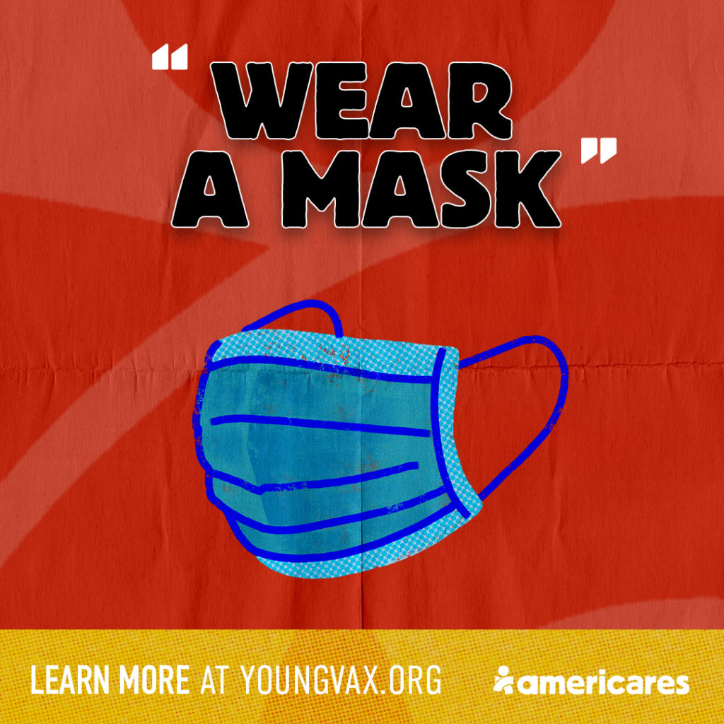 Wear a Mask Social Banner